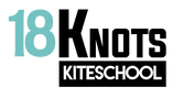 Chipiona kiteschool 18 KNOTS